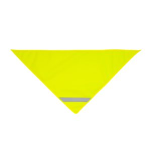 Żółta chusta odblaskowa