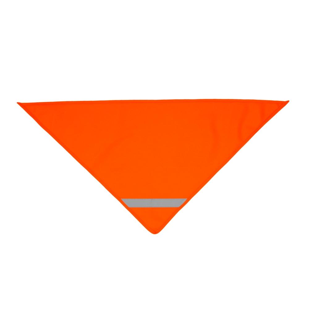 Pomarańczowa chusta odblaskowa