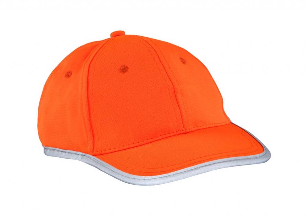 Pomarańczowa czapka odblaskowa dla dzieci