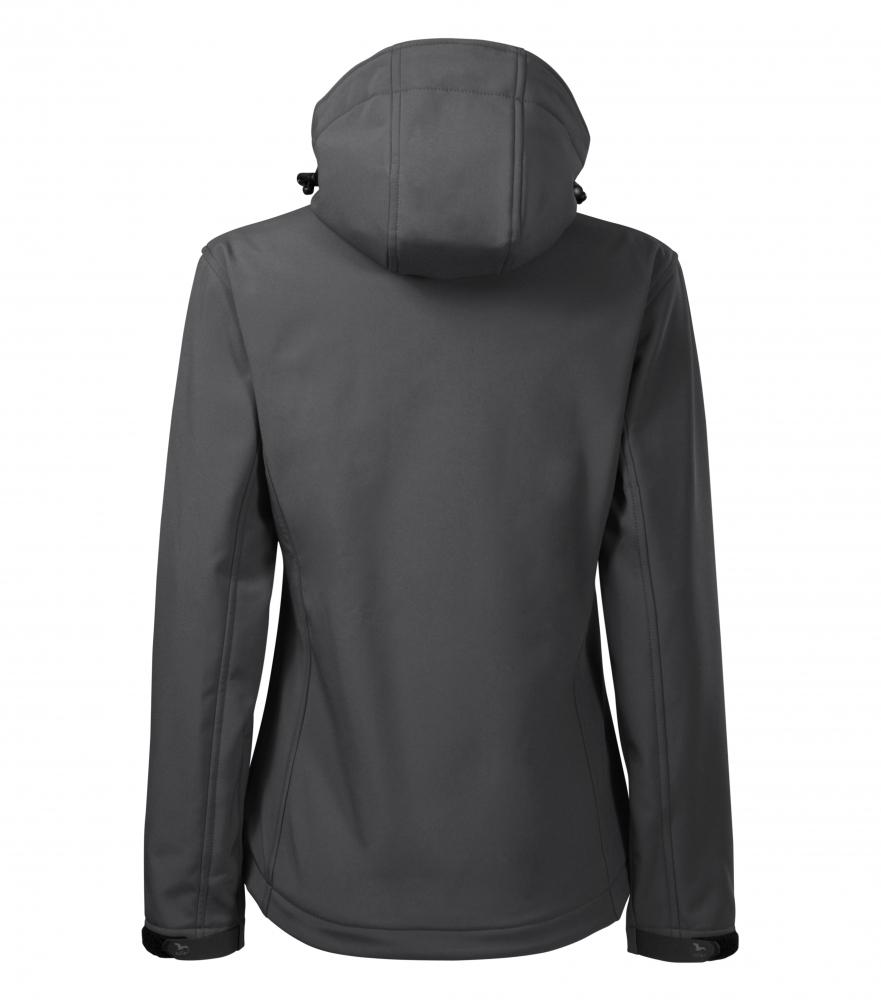 Stalowa kurtka softshell Performance damska - tył