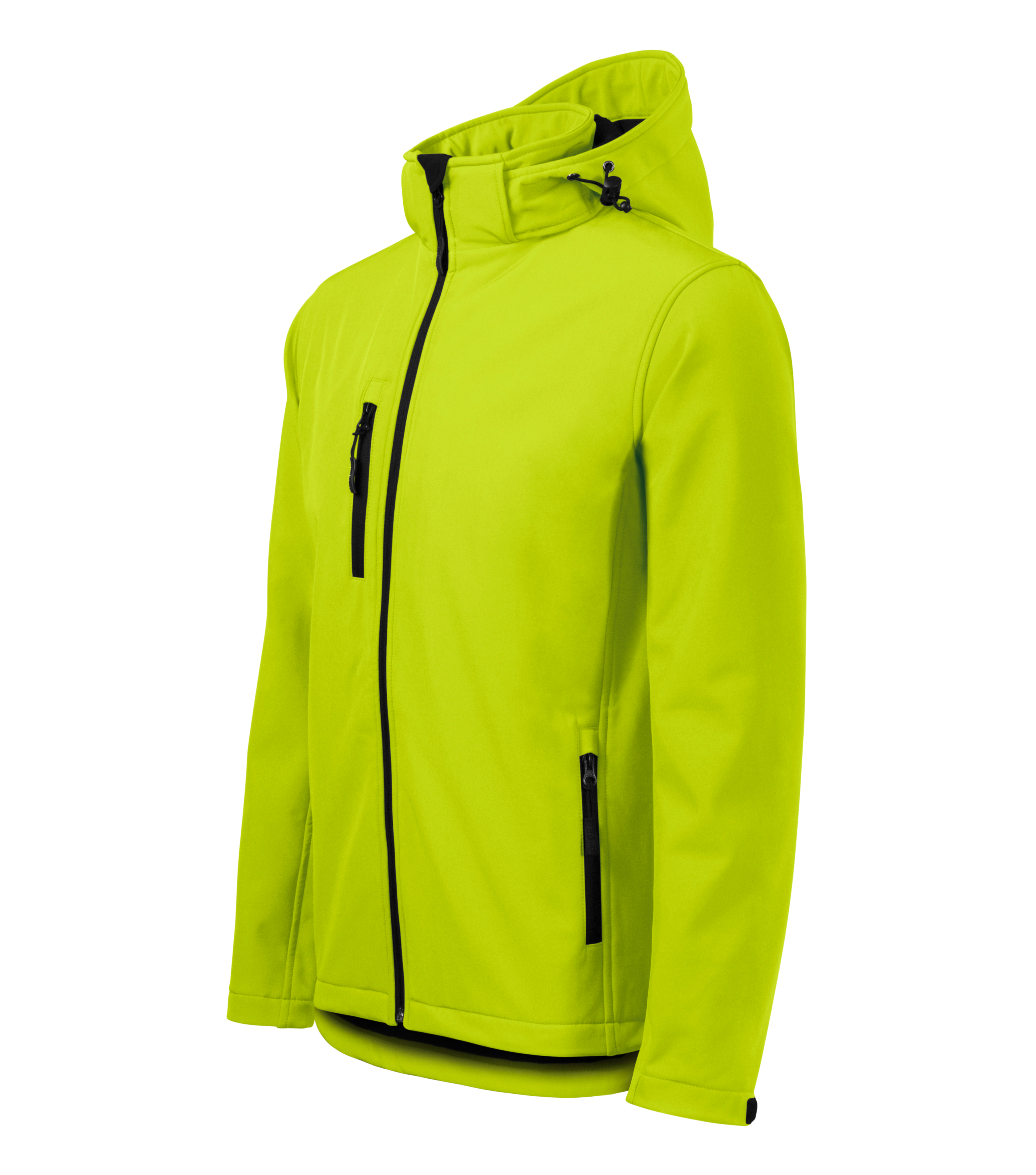 Limonkowa kurtka softshell Performance męska