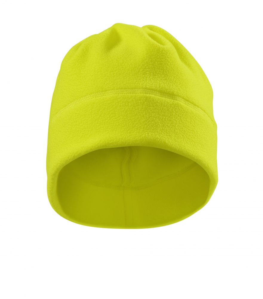 Żółta czapka polarowa 5V9 HV Practic