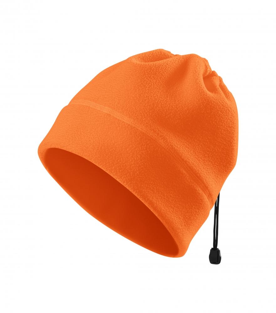 Pomarańczowa czapka polarowa 5V9 HV Practic