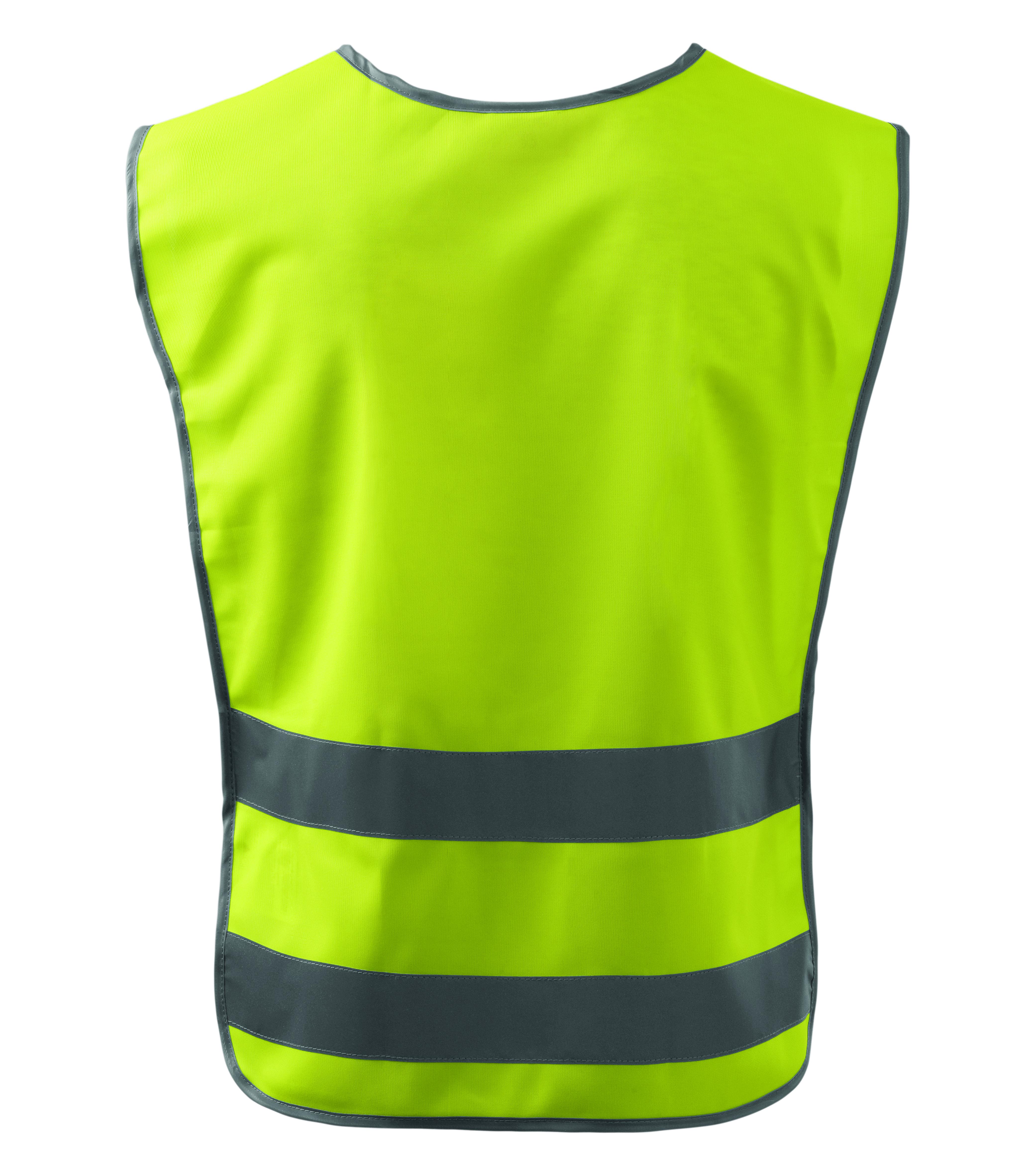 Żółta kamizelka odblaskowa Classic Safety Vest - tył