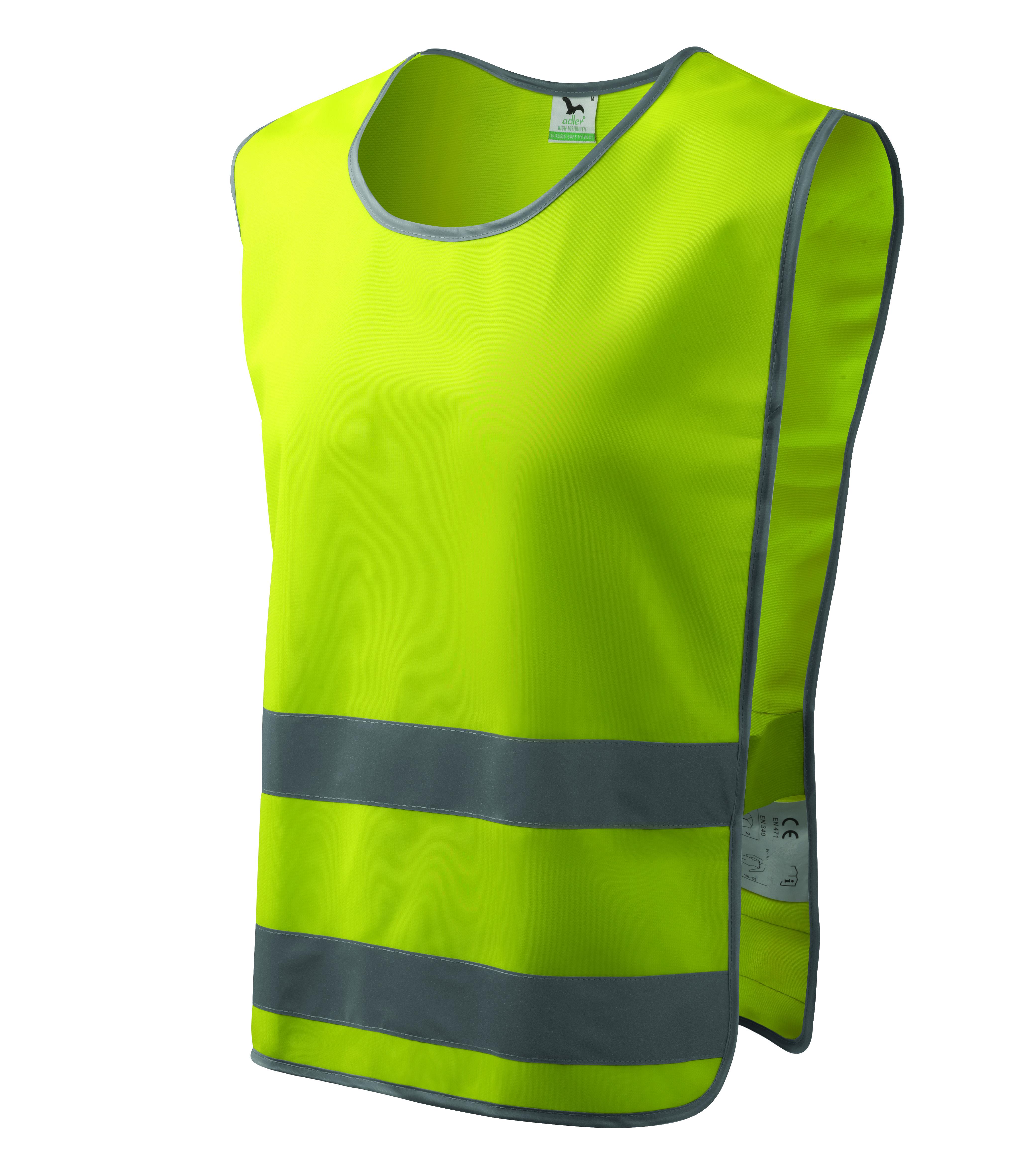 Żółta kamizelka odblaskowa Classic Safety Vest