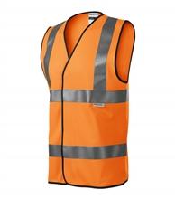 Pomarańczowa kamizelka odblaskowa 9V3 HV BRIGHT Unisex