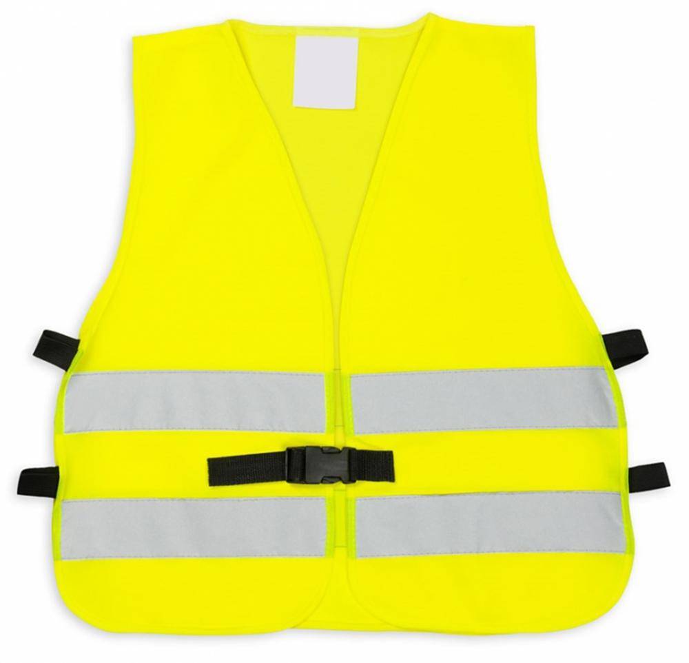 Żółta kamizelka odblaskowa z klipem UU204 - przód