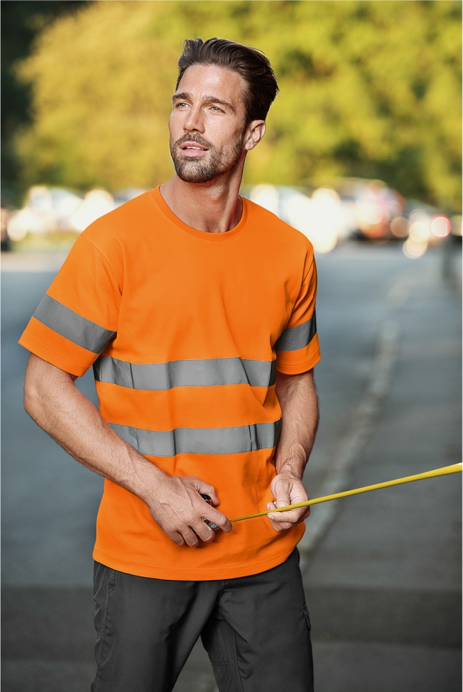 Pomarańczowa koszulka Protect
