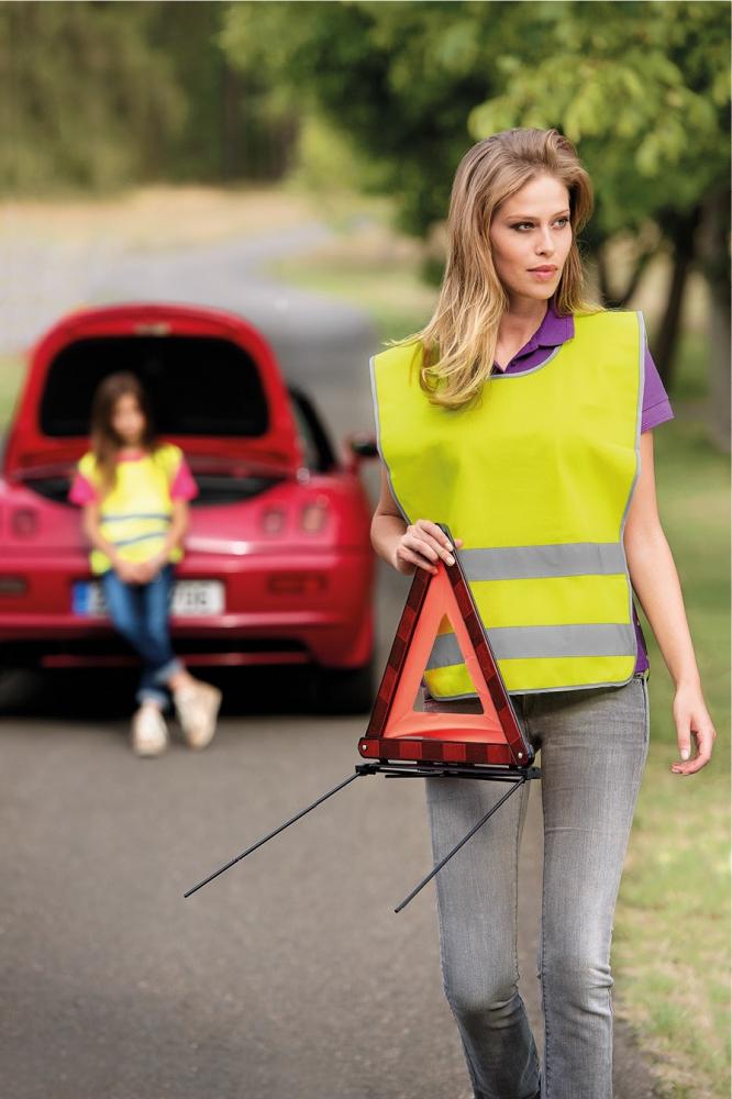 Żółta kamizelka odblaskowa Classic Safety Vest - zdjęcie sesja