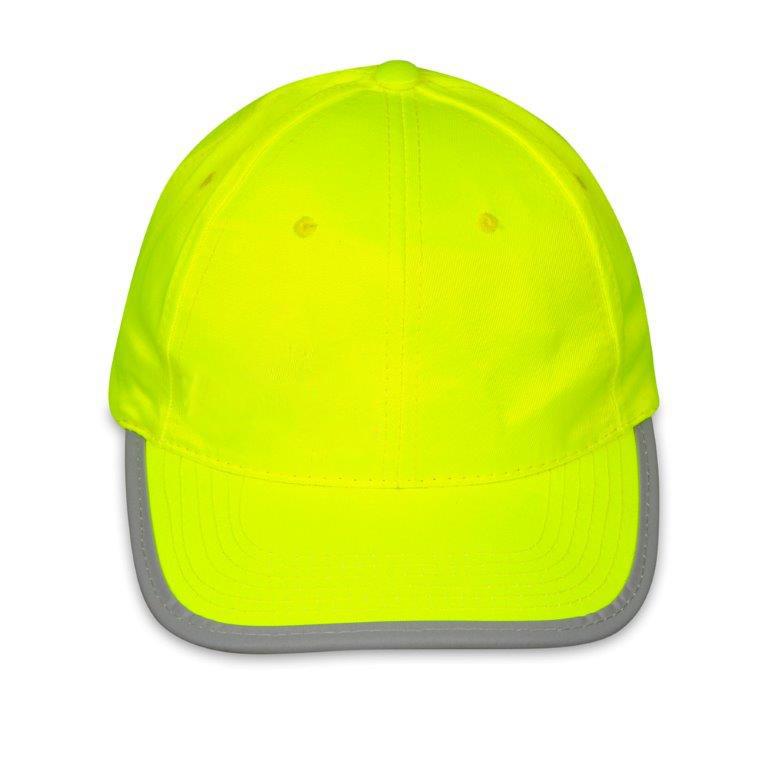 Czapka odblaskowa dla dorosłych Reflex - żółta - przód