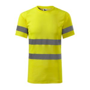 Koszulka odblaskowa Protect - żółta - przód