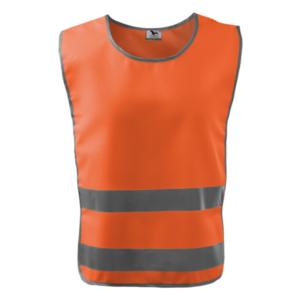 Kamizelka odblaskowa Classic Safety Vest - pomarańczowa - przód