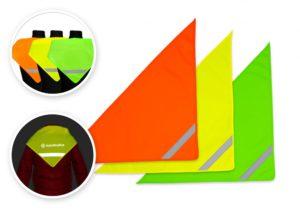 Chusty odblaskowe - różne kolory