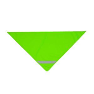 Zielona chusta odblaskowa