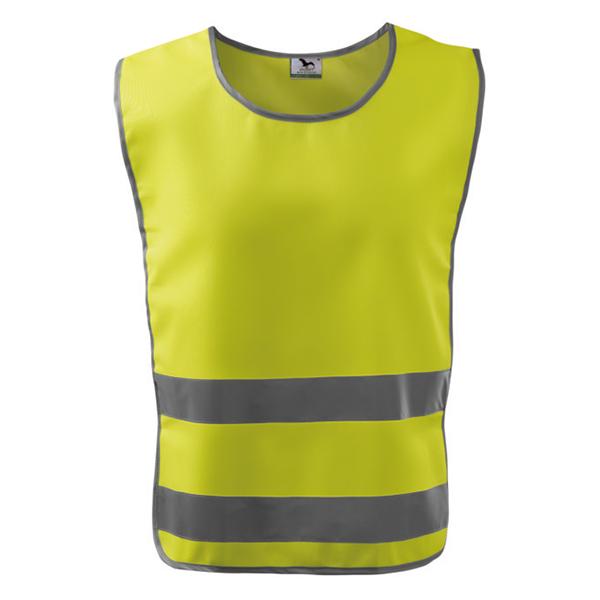 Kamizelka odblaskowa Classic Safety Vest - żółta - przód