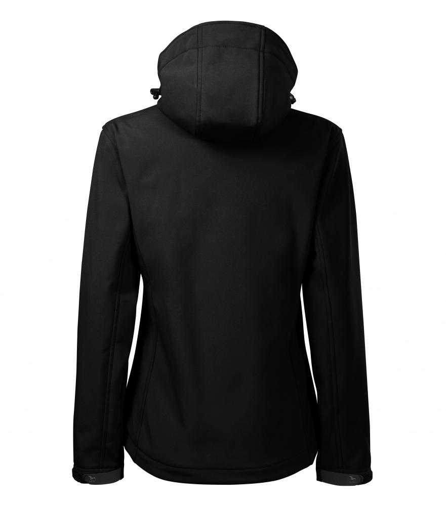 Czarna kurtka softshell Performance damska - tył