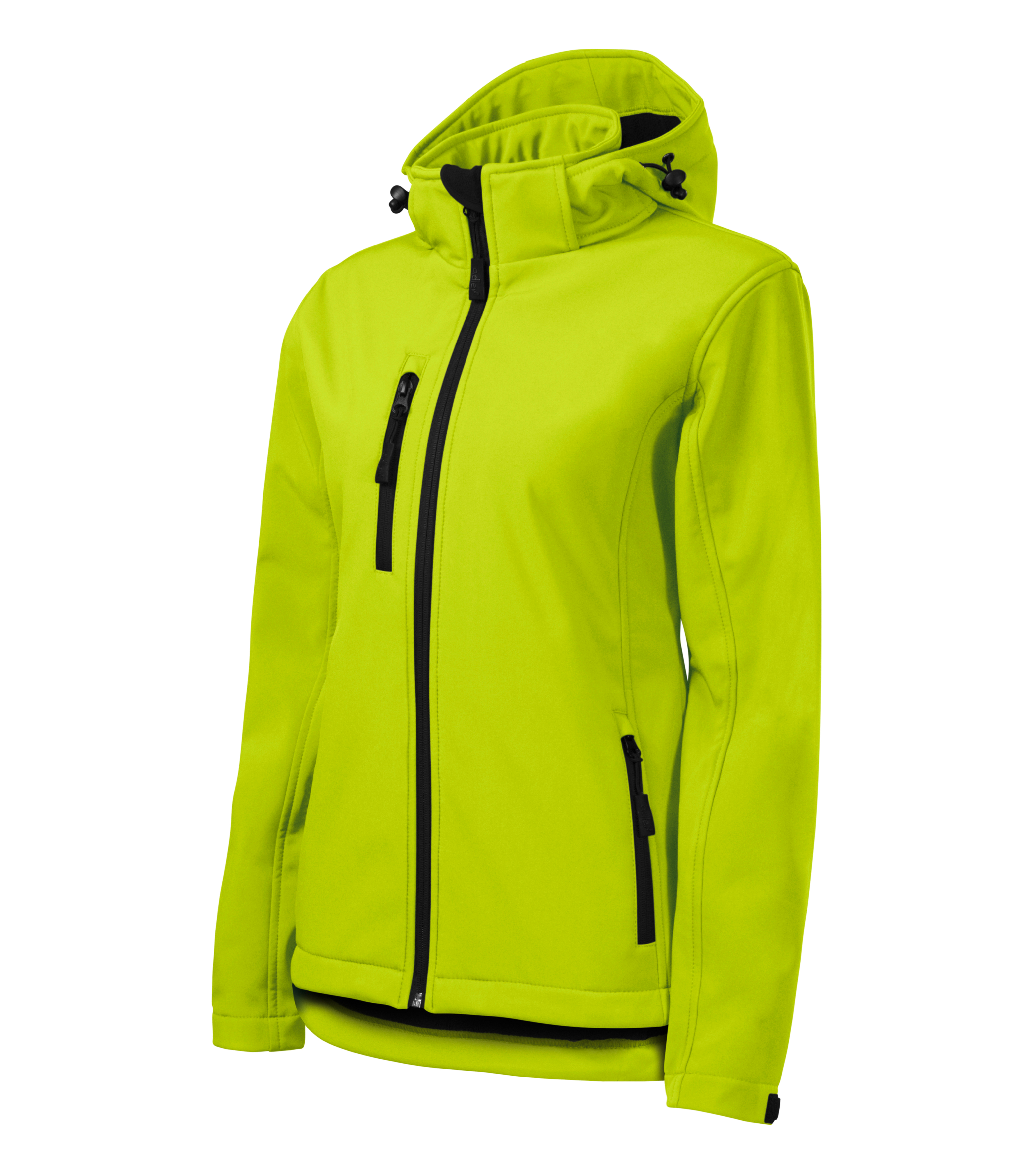 Limonkowa kurtka softshell Performance damska
