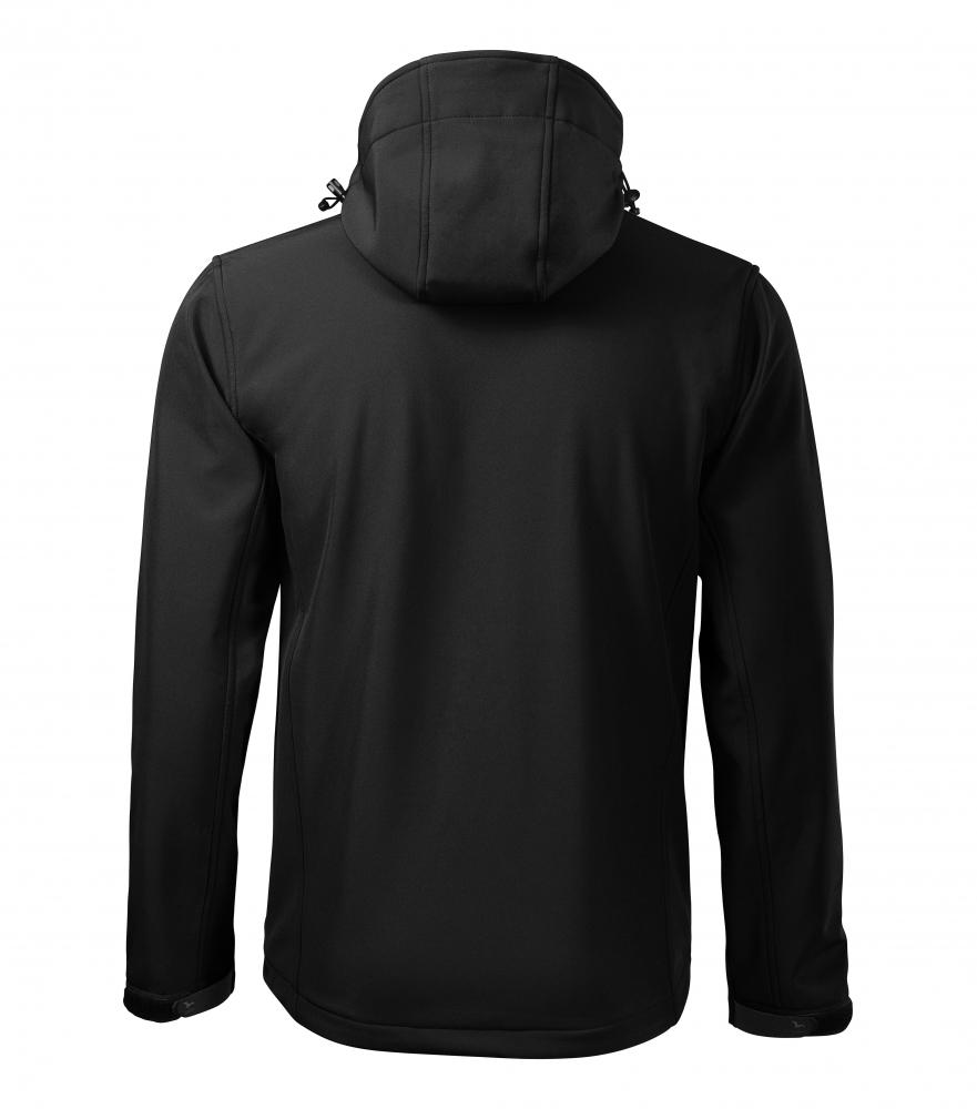Czarna kurtka softshell Performance męska - tył