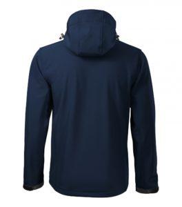 Granatowa kurtka softshell Performance męska - tył