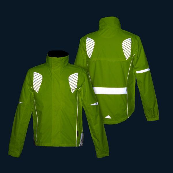 Żółte kurtki odblaskowe dla aktywnych Reflective Wings 3M - w nocy