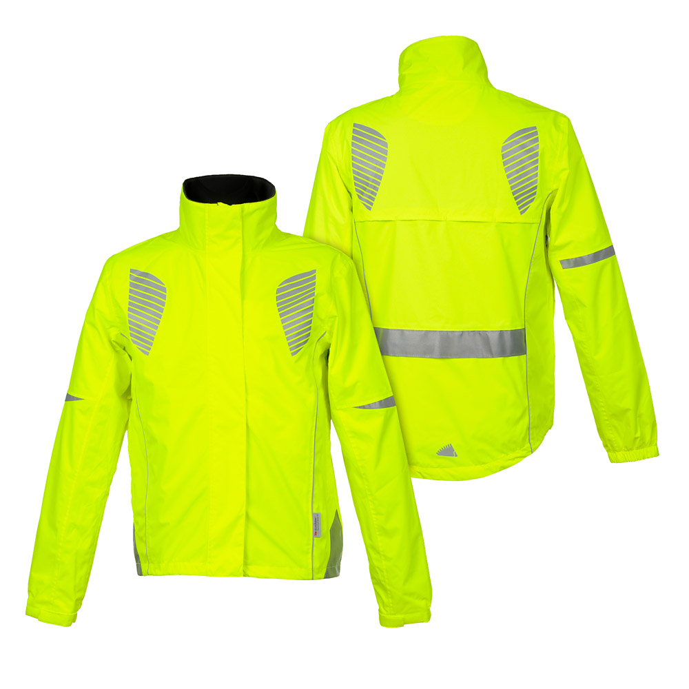 Żółte kurtki odblaskowe dla aktywnych Reflective Wings 3M
