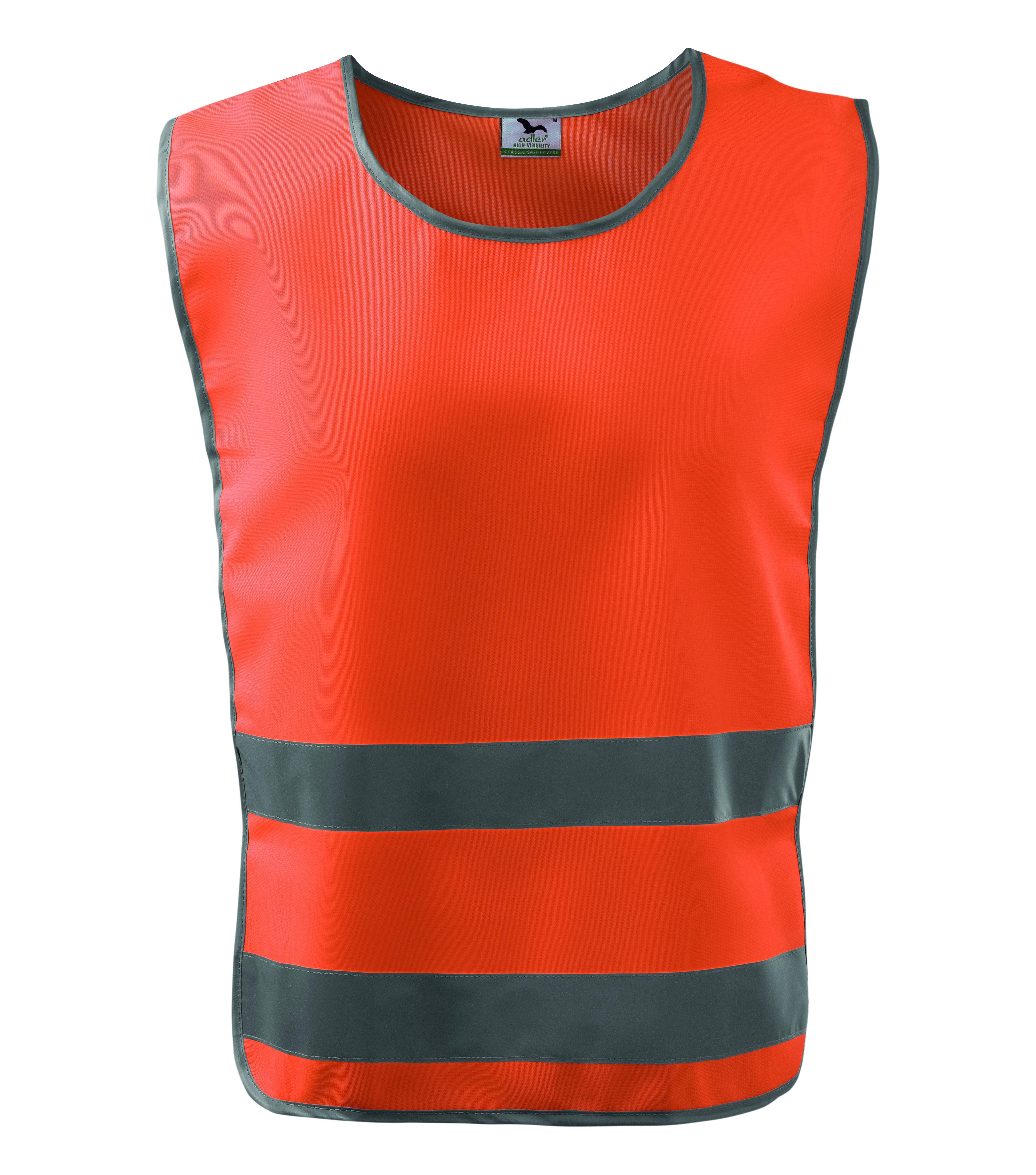Pomarańczowa kamizelka odblaskowa Classic Safety Vest - przód