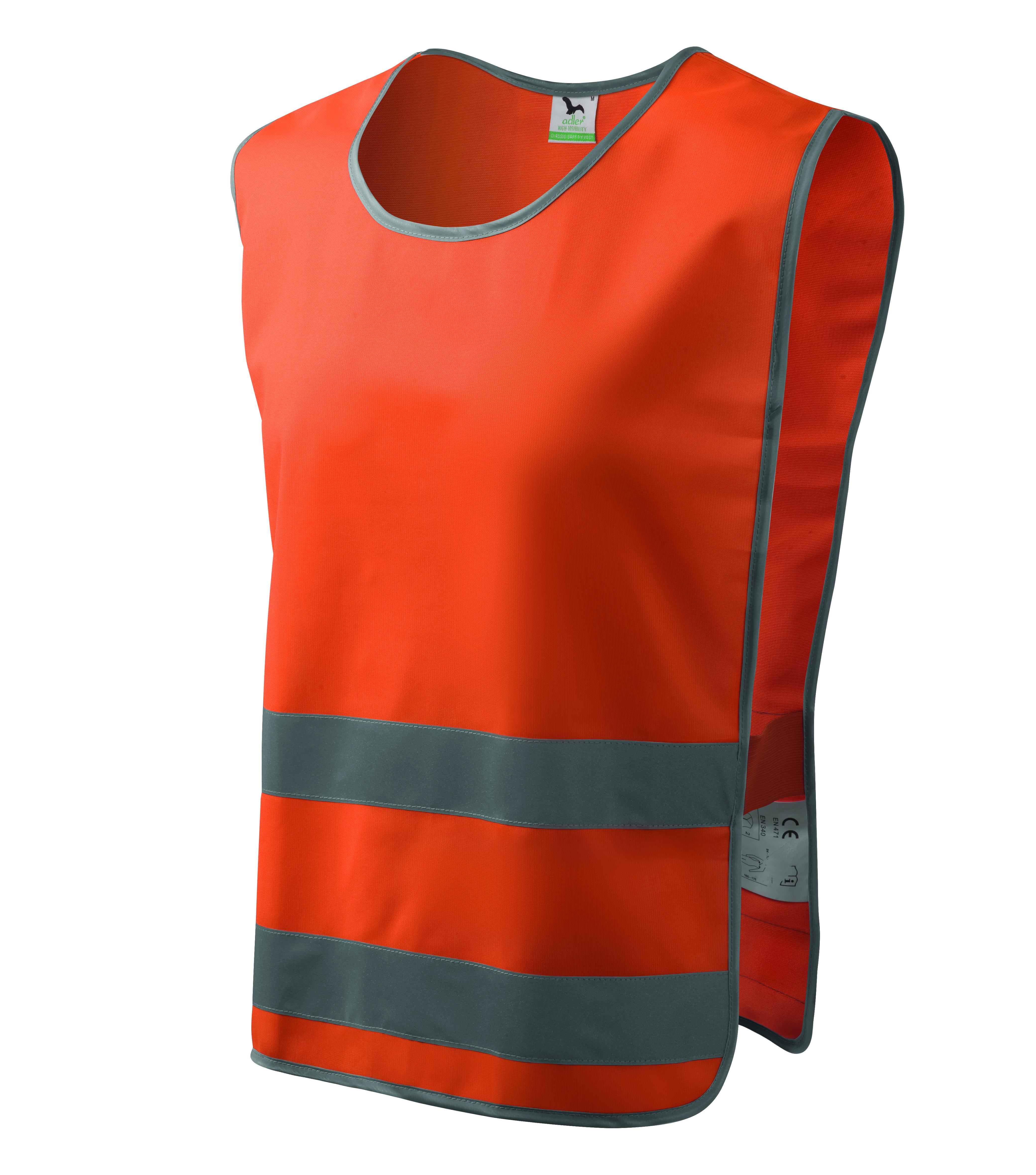 Pomarańczowa kamizelka odblaskowa Classic Safety Vest
