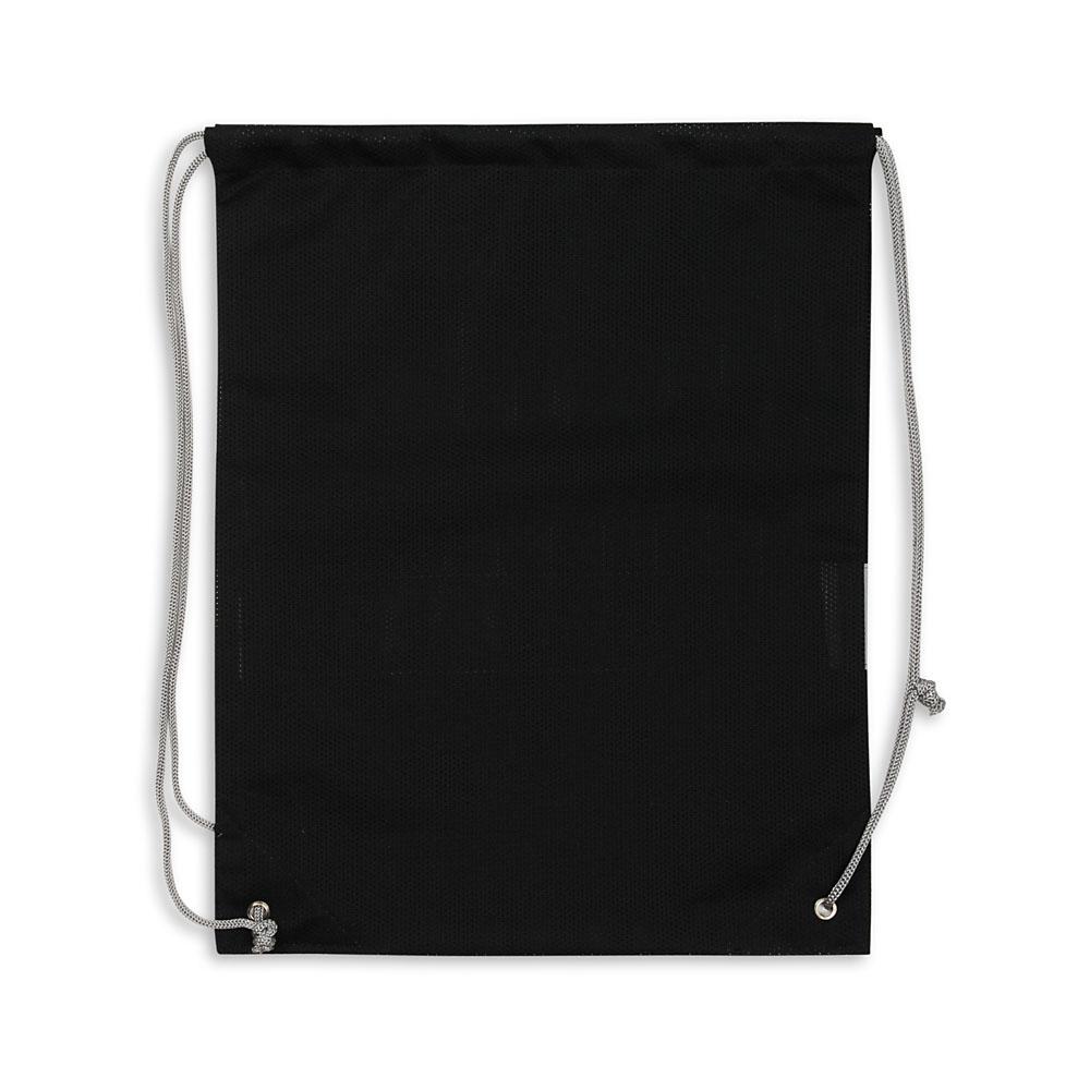 Czarny worek odblaskowy na plecy - Premium - tył