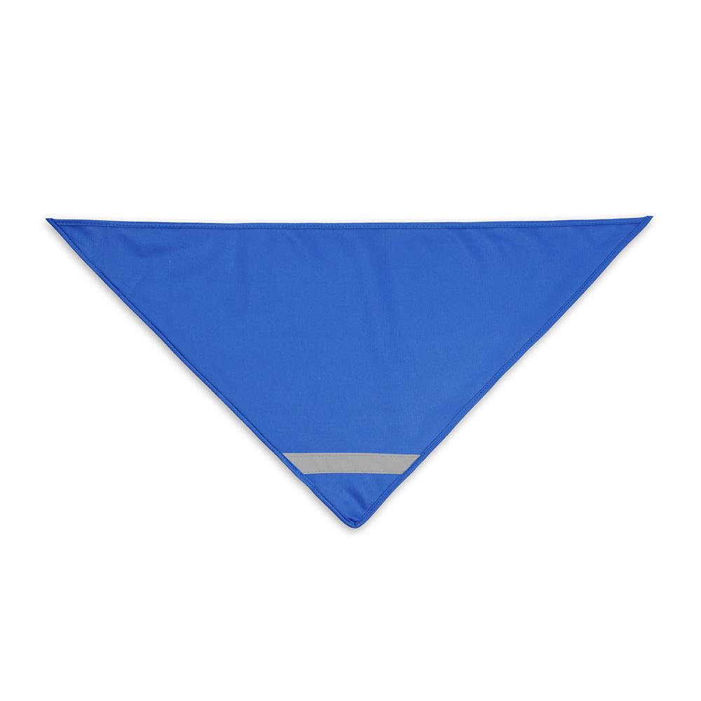 Niebieska chusta odblaskowa