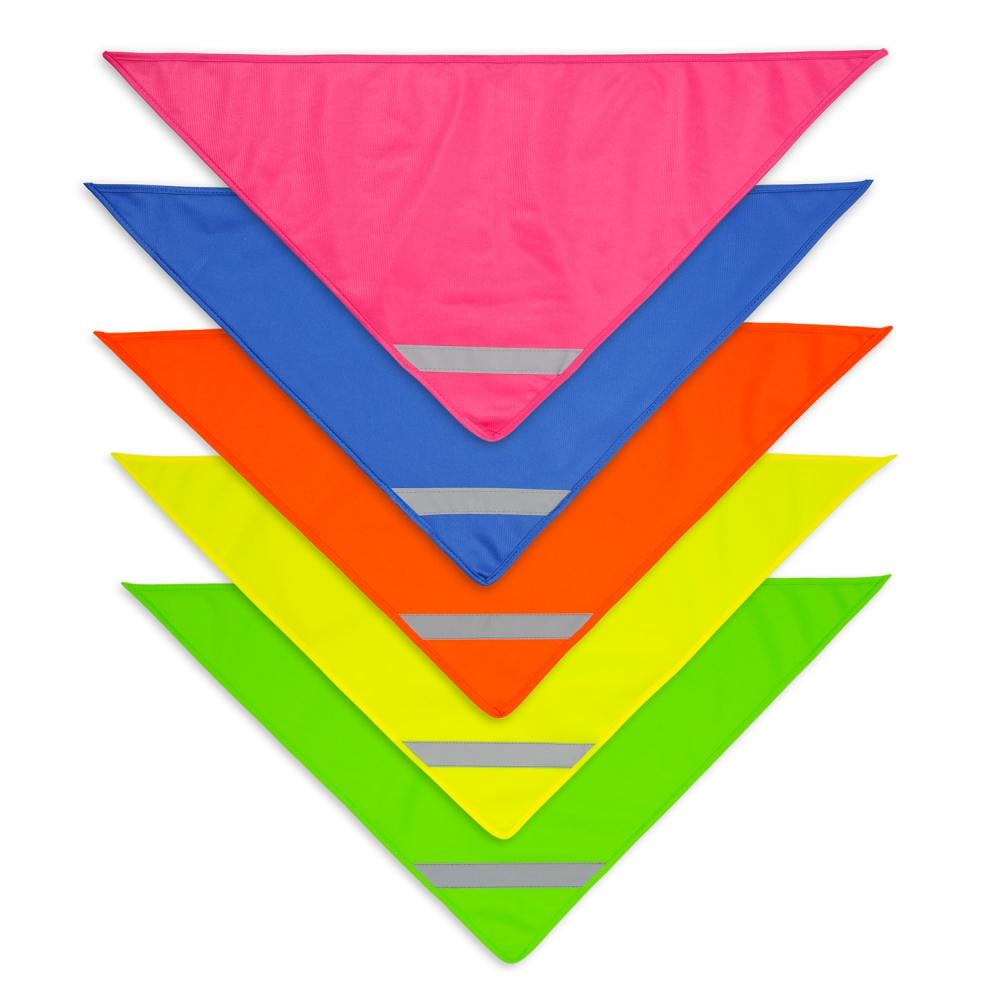 Chusty odblaskowe - różne kolory - zdjęcie zbiorcze