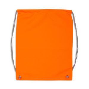 Pomarańczowy worek odblaskowy na plecy - tył