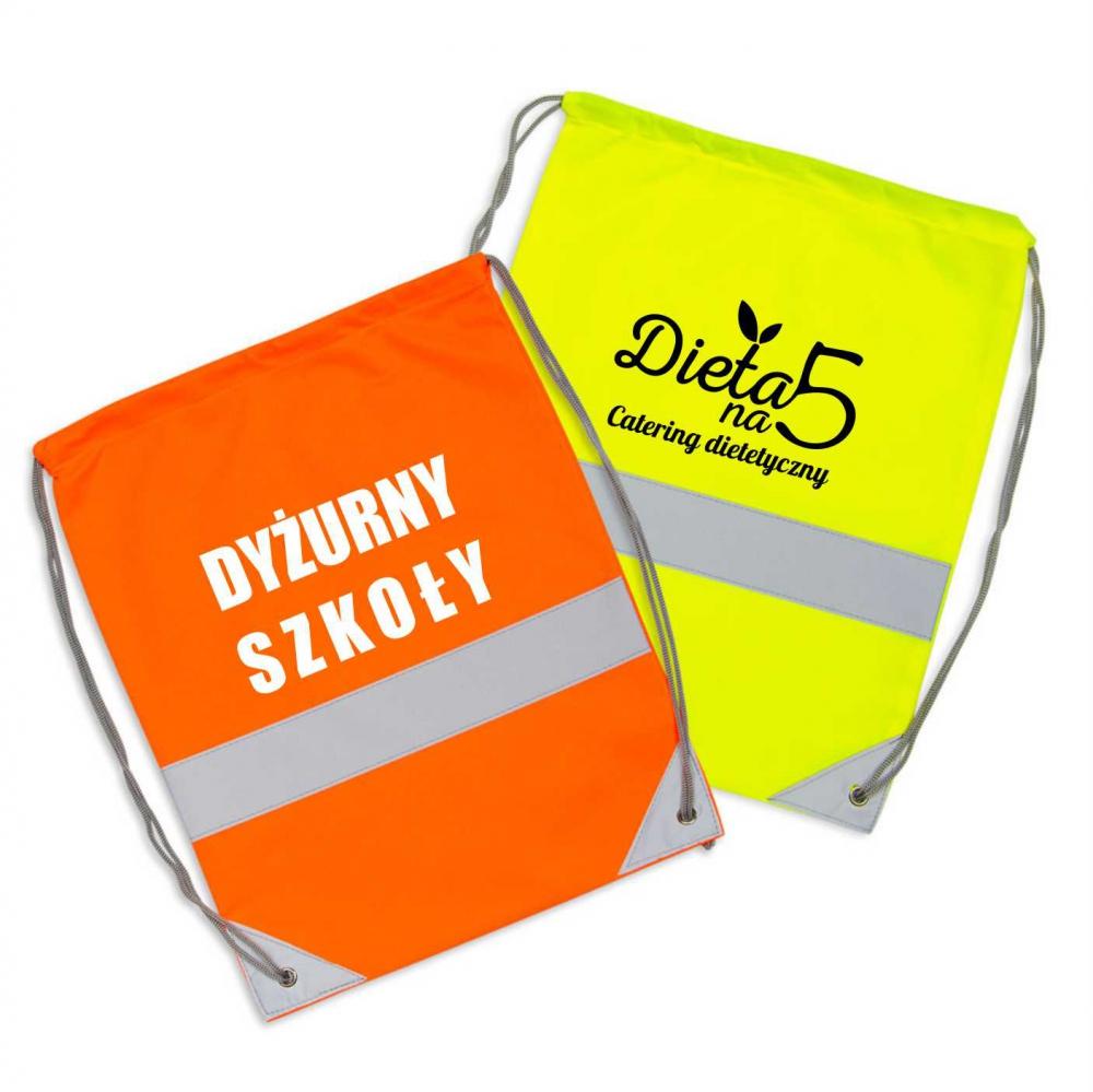 Worko-plecaki z nadrukiem - sitodruk