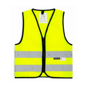 Kamizelka odblaskowa dla dzieci 3M - żółta - przód