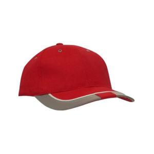 Czapka odblaskowa run - czerwona